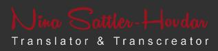 Sattler-Hovdar Übersetzungen